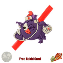 Smashing Kids Rakhi with a Free Silver Coin - Canada Delivery
