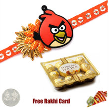 Kids Rakhi with 12 Piece Ferrero Rocher - Canada Delivery