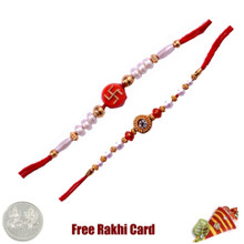Mauli Rakhi Set of 2 - Canada Delivery