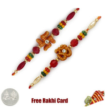 Om and Swastik Rakhi Set - Canada Delivery