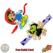 Kids Rakhi Set of 2 - Canada Delivery