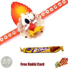 Kids Rakhi with Cadbury Flake Standard  - UK Delivery