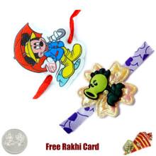 Kids Rakhi Set of 2 - UK Delivery