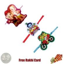 Kids Rakhi Set of 3 - UK Delivery