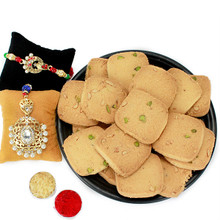 Grand Rakhi Cookies Combo  - RBLMB17-01
