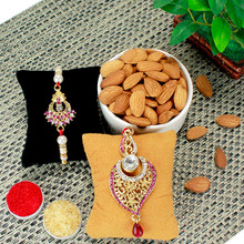 Almonds Magic Rakhi Combo - RBLMB17-12