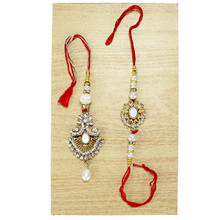 Beautiful Lumba Rakhi Set - 9441