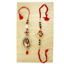 Bond Of love Lumba Rakhi Set - 9457A
