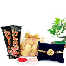 Special Handmade Chocolate Rakhi Combo - RBCHO17-31