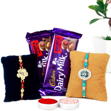 Fruit and Nuts Special rakhi Combo - RBCHO17-16
