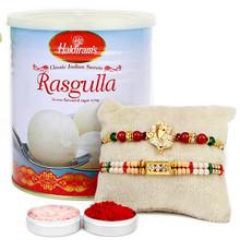Rasgulla Special Sweet Rakhi combo - RBSWT17-13