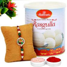 Rasgulla Special  Rakhi combo - RBSWT17-14