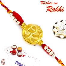 Golden OM Mauli Rakhi - PRS1716