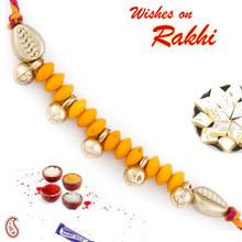 Bells & Beads Studded Mauli Rakhi - PRS1719