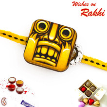 Amazing Temple Run Style Kids Rakhi - RK17716