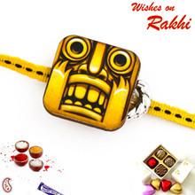 Amazing Temple Run Style Kids Rakhi - RK17716