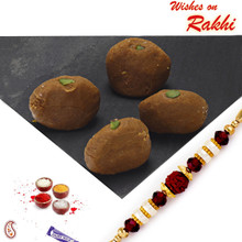 Mathura Peda with FREE 1  Bhaiya Rakhi - RM1702