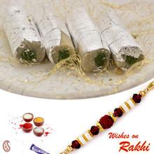 Kaju Pista Roll with FREE 1 Bhaiya Rakhi - RM1705