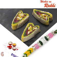 Pineapple Kasata Sweet with FREE 1 Bhaiya Rakhi - RM1712