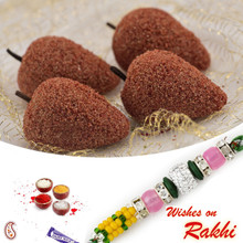 Kaju Litchi Sweet with FREE 1 Bhaiya Rakhi - RM1718