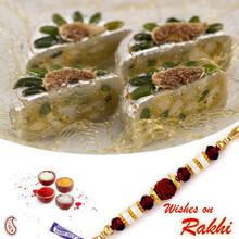 Suraj Mukhi Sweet with FREE 1 Bhaiya Rakhi - RM1721
