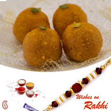 Bundi Laddu Sweet with FREE 1 Bhaiya Rakhi - RM1725