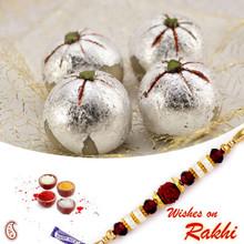 Kaju Laddu Sweet with FREE 1 Bhaiya Rakhi - RM1727