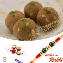 Gond Dryfruit Laddu with FREE 1 Bhaiya Rakhi - RM1733