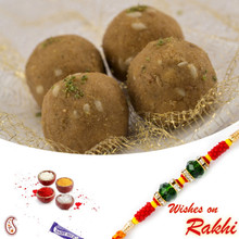 Mung Dryfruit Laddu  with FREE 1 Bhaiya Rakhi - RM1734