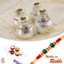 Kaju Kalash Sweet with FREE 1 Bhaiya Rakhi - RM1739