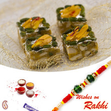 Pista Delight Sweet with FREE 1 Bhaiya Rakhi - RM1740