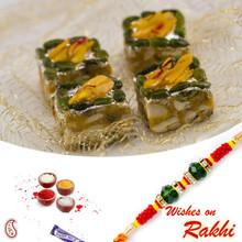 Pista Delight Sweet with FREE 1 Bhaiya Rakhi - RM1740