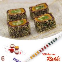 Rimjhim Toss Sweet with FREE 1 Bhaiya Rakhi - RM1748