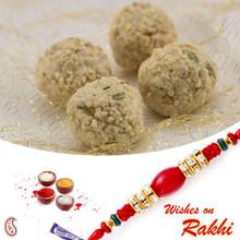 Tasty Kaju Laddu Sweet with FREE 1 Bhaiya Rakhi - RM1752