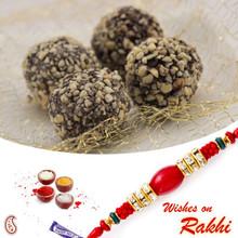 Kaju Chocolate Laddu with FREE 1 Bhaiya Rakhi - RM1754
