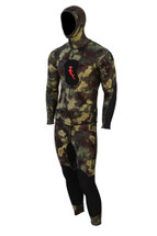 Ambush Wetsuit, 2-piece, 1.5 mm, Green