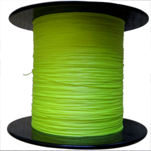 DYNEEMA REEL	 FILL, 2.0 mm x 125', Flo. Yellow