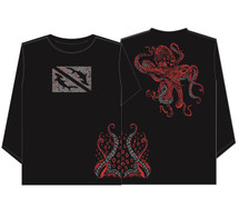 Lawai'a UV+ Tako (Long Sleeve), Black