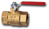 25mm DR Brass Watermarked Ball Valve with Full Flow #11DR-25