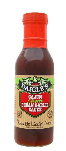 Daigle's Cajun Sweet Pecan Garlic BBQ Sauce