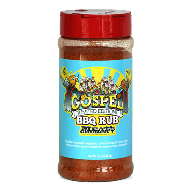 The Holy Gospel BBQ Rub