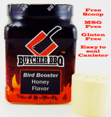 Butcher BBQ Bird Booster Honey Flavor