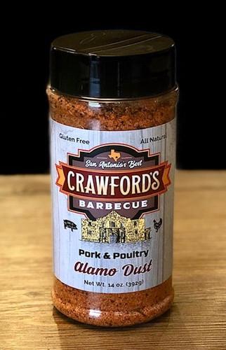 Crawford's Barbecue Alamo Dust