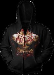 """""""Inked In Blood"""" Zipper Hoodie"""