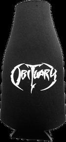 """""""Black & White Logo"""" - Bottle Koozie with Zipper"""