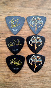 """Trevor, Kenny & Terry - Obituary 2017"" Signature Guitar Picks"