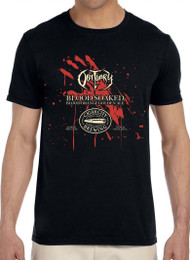 "Blood Soaked ""Blood Orange Golden Ale"" Cigar City Brewing T-Shirt"