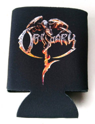 """Obituary 2017 LP"" Can Koozie"
