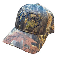 """Hunting Camo"" Hat with Black Logo"