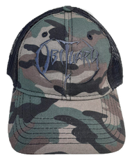"""Army Camo"" Hat Black Logo"